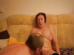 Granny masturbating by boy collaborate