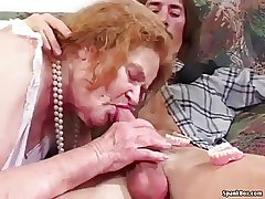 Granny loses her teeth for ages c in depth sucking