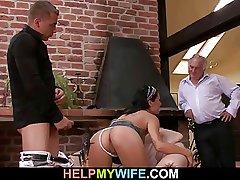 Shush calls guy to fuck his wife