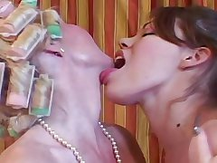 Aged MILF & Young Teen - Mammy Fucks In advance Their way Date