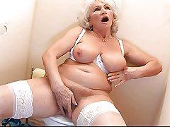Granny Norma - Gloryhole
