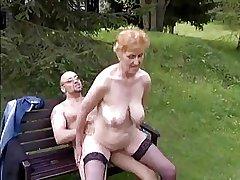 Floosie granny hither nice boobs & panhandler