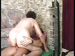 BBW FAT GRANNY FUCKED At the end of one's tether A YOUNG STUD PART 3