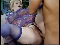 German Granny Fucked at the end of one's tether Black Man
