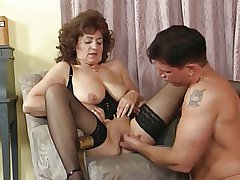 Granny all over Stockings with the addition of Basque Fucks