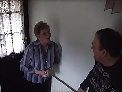A Big-titted Slut Gives A Blowjob To A Detect Relating to A Bedroom