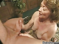 Granny fucked by old-ass sweetheart