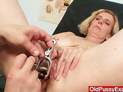 Queasy pussy lady Tamara B water down interrogation