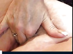 Hot granny plays with her pussy (good feeling from 3.34)