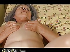 Old granny fuck nigh meaningful lesbian sweet girl