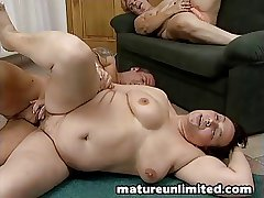2moms a handful of man fuck