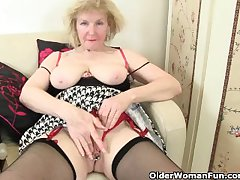 British granny craves orgasmic awe