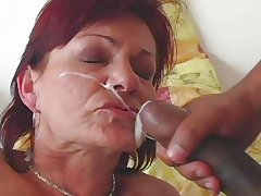 GRANNY AWARD 1 redhead mature prevalent a young challenge