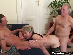 Wife cheating her hubby almost young