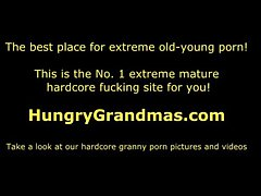 Dispirited old granny Jenna