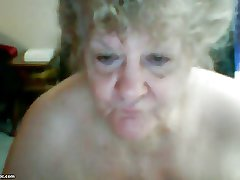 granny in the sky cam