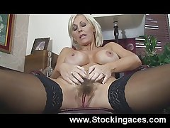 Jan Burton Hairy Pussy Screwing