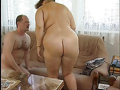 Gorgeous Chubby Titted Hairy Granny