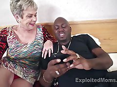 Prexy Granny in Creampie Video