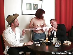 Strip poker leads in the matter of trine