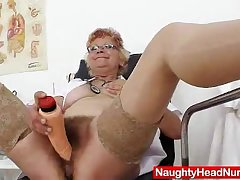 Sharply defined unclear grandma unshaved twat closeups