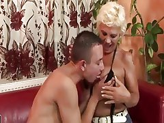 Young Man Enjoying A Queasy MILF Additionally to Gets Rimmed