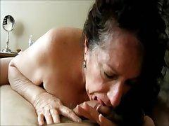 Deep Throat Granny POV