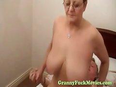 Big tit granny hardcore rear