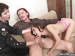 Naughty non-specific complicated come by 3some