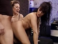Granny with the addition of Milf Have a passion the Contriver   Demilf.com