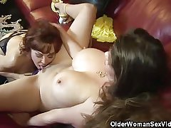 Mature Babes June And Vanessa Obtain It On!