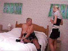 Adult bbw with younger sweeping