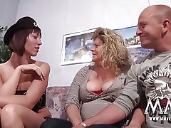 MMV FILMS Young and Old mature triplet