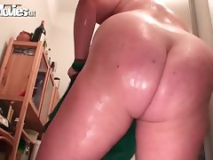 FunMovies Chubby housewife loves to get fucked with a dildo