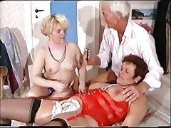 German Mature Trine - Shaving, Fisting Anal