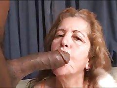67yr Horny Mature x Chunky Black Cock