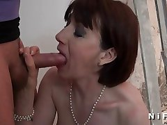 Sextape of a mature sodomized added to facialized