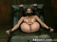 Overbearing Mature In Profligate BDSM Girl