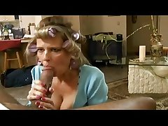 Full-grown housewife put her paws on BBC
