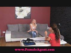 FemaleAgent Easy Chap-fallen Sighting