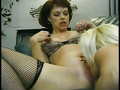 Cute squirting matured lesbians take giant tits swell up pussy and finger eternally alternative