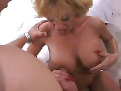 Hot Busty Full-grown Sammie Sparks Threesome
