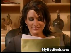Sydnee Steele is a gorgeous  brunette secretary  w