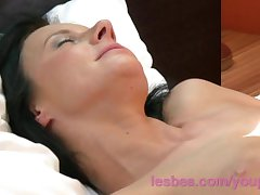 Lesbea HD Busty milf house tie the knot most important more than husband not far from horny mature old lady