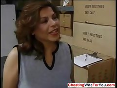 Mature Latina shafting her boss occurring  Who is she??