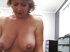 Czech adult POV 53yo blowjob be crazy and cumming on big soul