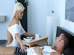 PureMature - Hot blonde Mikki Lyn gets unseeable in cum
