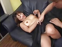 Pretty Japanese Mature's Cunt Fucked