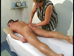 bbw matured kneading action with young mendicant
