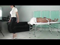 Stocking domina enrol forsake her prima ballerina subjects body